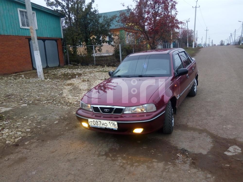 Подержанный Daewoo Nexia, хорошее состояние, красный , 2008 года выпуска, цена 135 000 руб. в республике Татарстане
