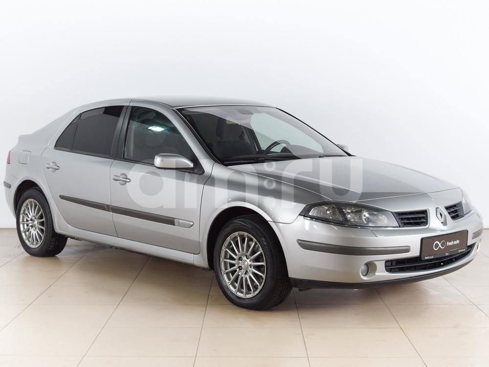 Renault Laguna с пробегом, серебряный , отличное состояние, 2005 года выпуска, цена 309 000 руб. в автосалоне  ()