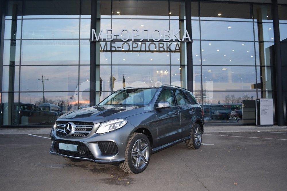 Новый авто Mercedes-Benz GLE-Класс, серый металлик, 2016 года выпуска, цена 4 620 000 руб. в автосалоне  ()