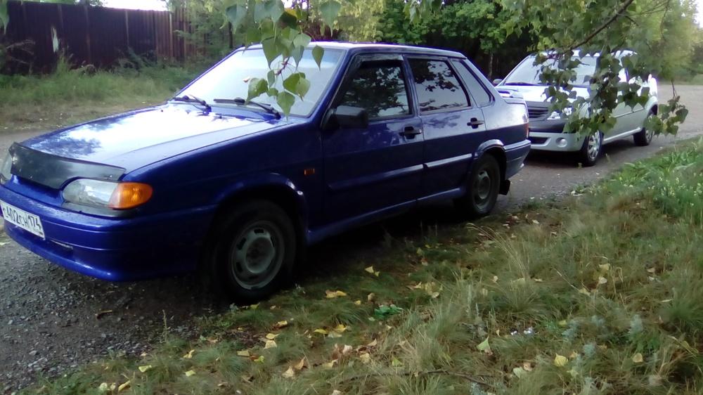Подержанный ВАЗ (Lada) 2115, отличное состояние, синий металлик, 2011 года выпуска, цена 145 000 руб. в Челябинской области