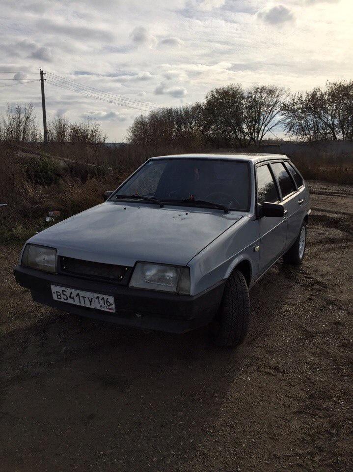 Подержанный ВАЗ (Lada) 2109, хорошее состояние, серебряный , 2005 года выпуска, цена 85 000 руб. в республике Татарстане