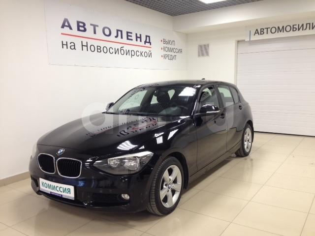 BMW 1 серия с пробегом, черный , отличное состояние, 2012 года выпуска, цена 930 000 руб. в автосалоне  ()
