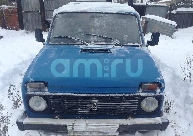 Подержанный ВАЗ (Lada) 4x4, хорошее состояние, голубой , 1996 года выпуска, цена 90 000 руб. в республике Татарстане