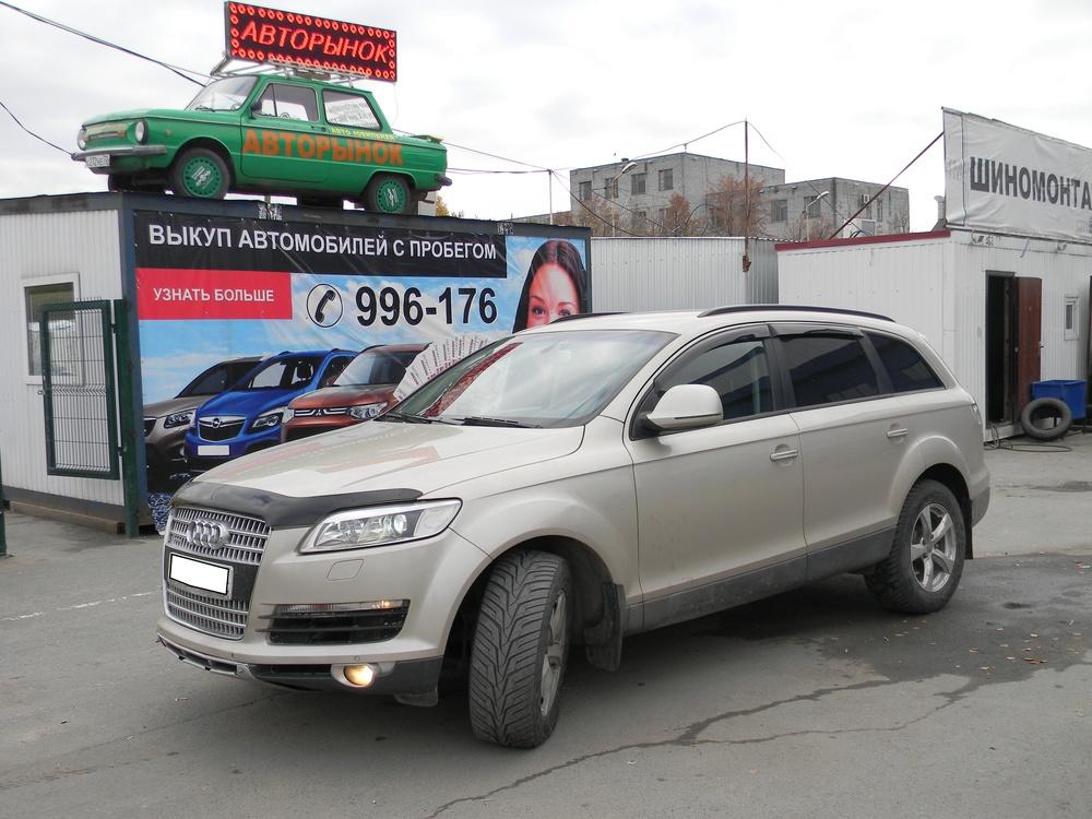 Audi Q7 с пробегом, бежевый , отличное состояние, 2007 года выпуска, цена 830 000 руб. в автосалоне  ()