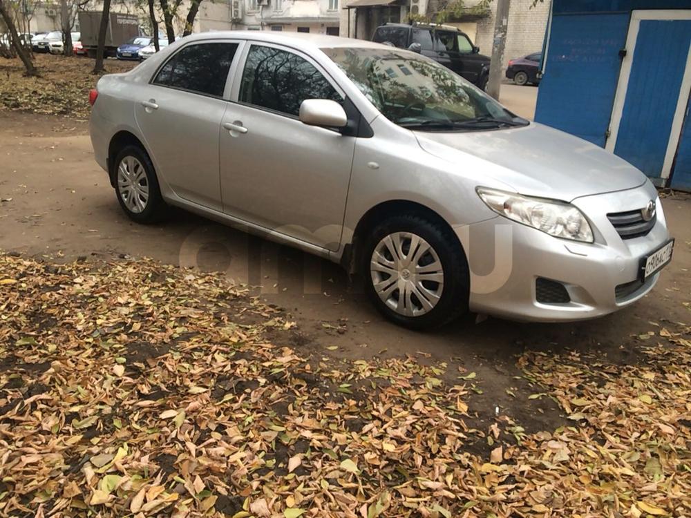Подержанный Toyota Corolla, хорошее состояние, серебряный , 2008 года выпуска, цена 440 000 руб. в республике Татарстане