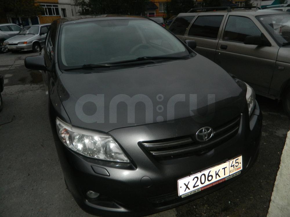 Подержанный Toyota Corolla, хорошее состояние, серый , 2008 года выпуска, цена 385 000 руб. в ао. Ханты-Мансийском Автономном округе - Югре