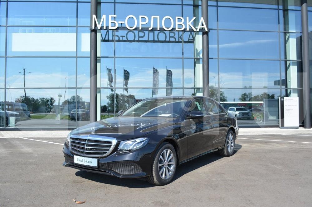 Новый авто Mercedes-Benz E-Класс, черный матовый, 2016 года выпуска, цена 2 850 000 руб. в автосалоне МБ-Орловка (Набережные Челны, тракт Мензелинский, д. 24)