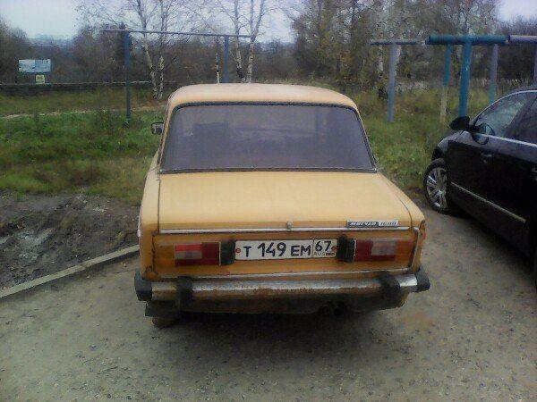 Подержанный ВАЗ (Lada) 2106, хорошее состояние, оранжевый , 1976 года выпуска, цена 35 000 руб. в Смоленской области