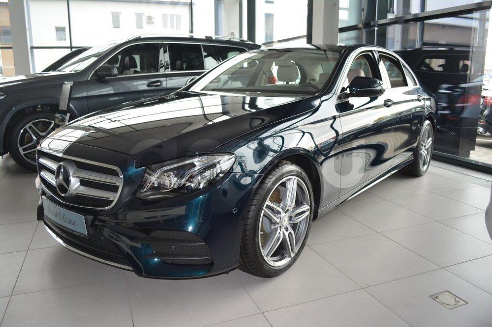 Новый авто Mercedes-Benz E-Класс, зеленый металлик, 2016 года выпуска, цена 3 620 000 руб. в автосалоне МБ-Орловка (Набережные Челны, тракт Мензелинский, д. 24)