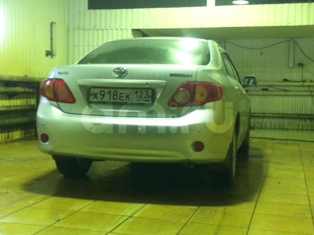Подержанный Toyota Corolla, отличное состояние, серебряный , 2008 года выпуска, цена 500 000 руб. в ао. Ханты-Мансийском Автономном округе - Югре