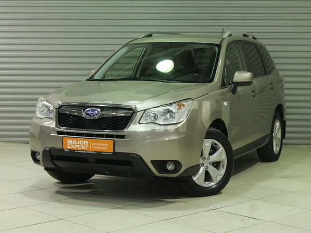 Subaru Forester с пробегом, коричневый , отличное состояние, 2014 года выпуска, цена 1 340 000 руб. в автосалоне  ()
