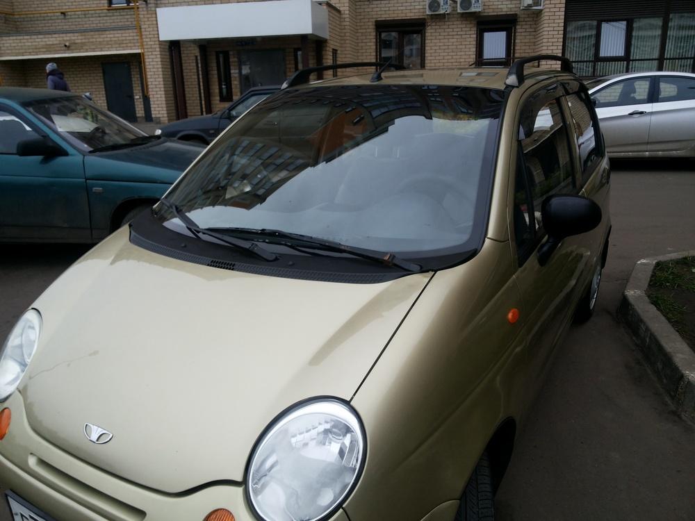 Подержанный Daewoo Matiz, хорошее состояние, бежевый , 2008 года выпуска, цена 120 000 руб. в республике Татарстане