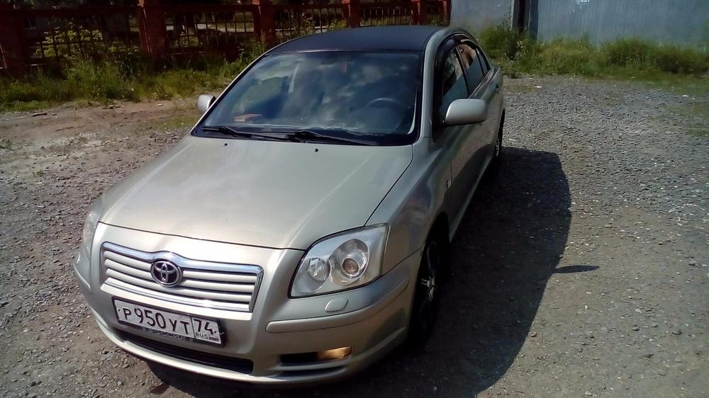 Подержанный Toyota Avensis, отличное состояние, зеленый металлик, 2006 года выпуска, цена 470 000 руб. в Челябинской области