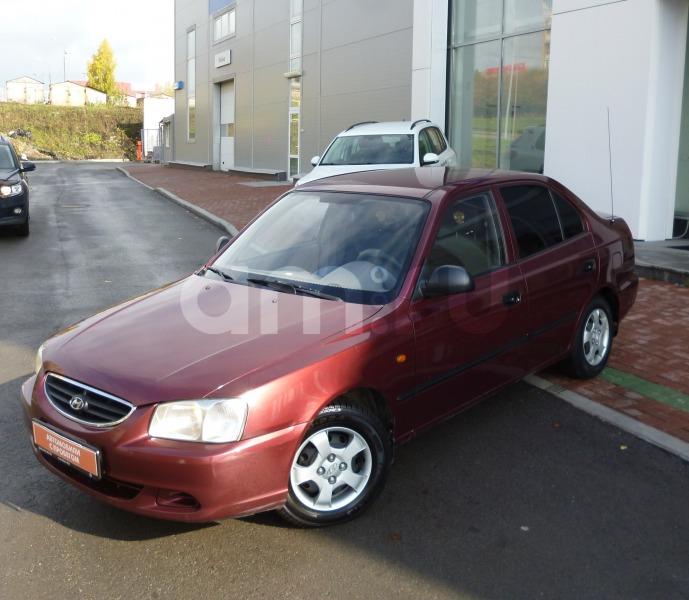 Hyundai Accent с пробегом, красный , отличное состояние, 2007 года выпуска, цена 225 000 руб. в автосалоне  ()