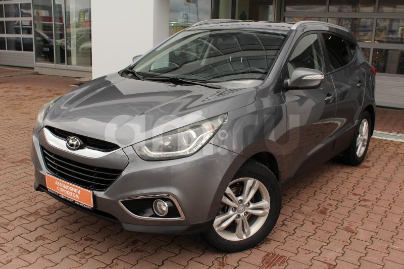 Hyundai ix35 с пробегом, серый , отличное состояние, 2012 года выпуска, цена 940 000 руб. в автосалоне Автобан-Запад (Екатеринбург, ул. Металлургов, д. 67)