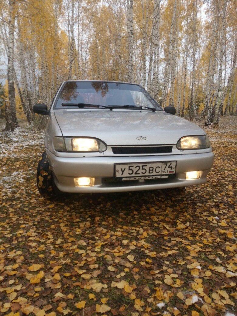 Подержанный ВАЗ (Lada) 2113, хорошее состояние, серебряный , 2005 года выпуска, цена 110 000 руб. в Челябинской области