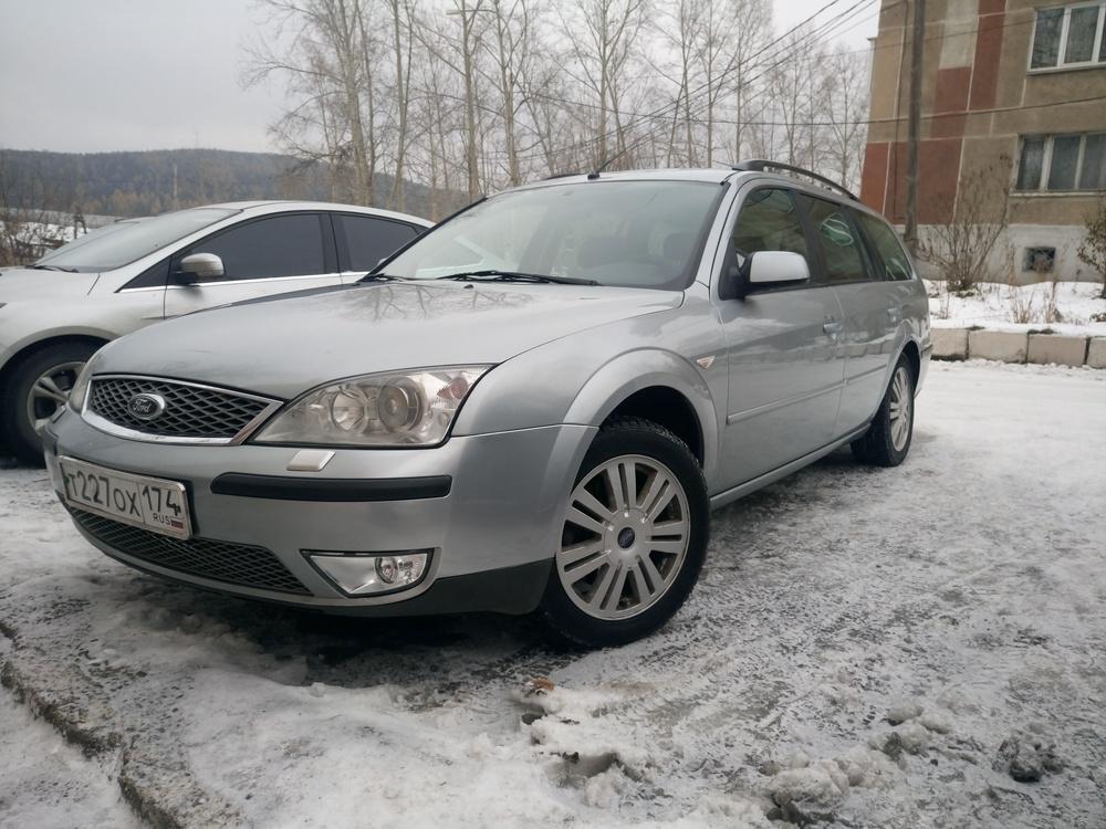 Подержанный Ford Mondeo, отличное состояние, серебряный , 2005 года выпуска, цена 248 000 руб. в Челябинской области