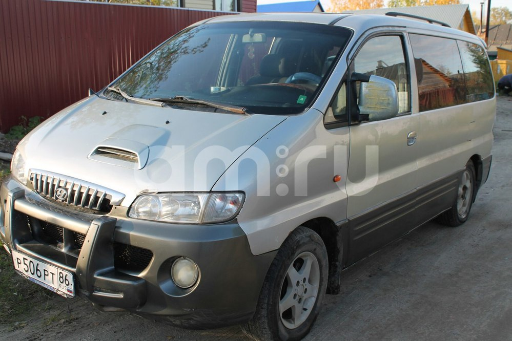 Подержанный Hyundai Starex, среднее состояние, серый , 2001 года выпуска, цена 250 000 руб. в ао. Ханты-Мансийском Автономном округе - Югре