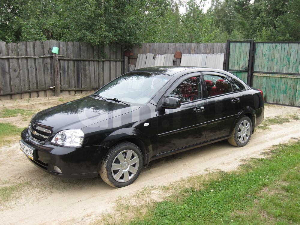 Подержанный Chevrolet Lacetti, отличное состояние, черный , 2010 года выпуска, цена 370 000 руб. в ао. Ханты-Мансийском Автономном округе - Югре