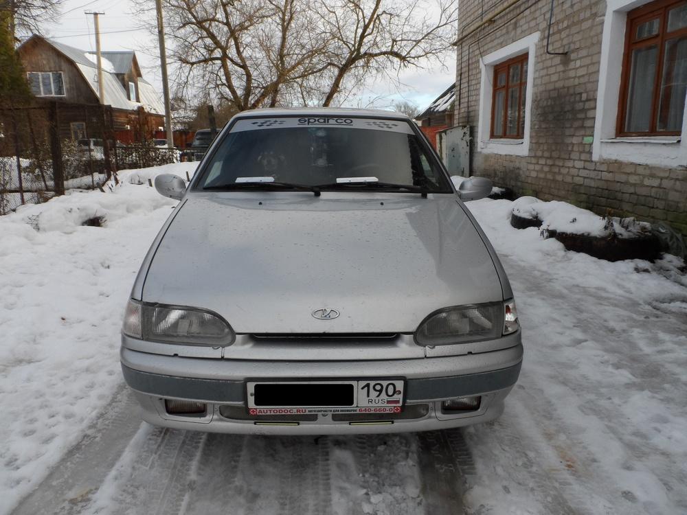 Подержанный ВАЗ (Lada) 2115, хорошее состояние, серебряный металлик, 2005 года выпуска, цена 95 000 руб. в Смоленской области