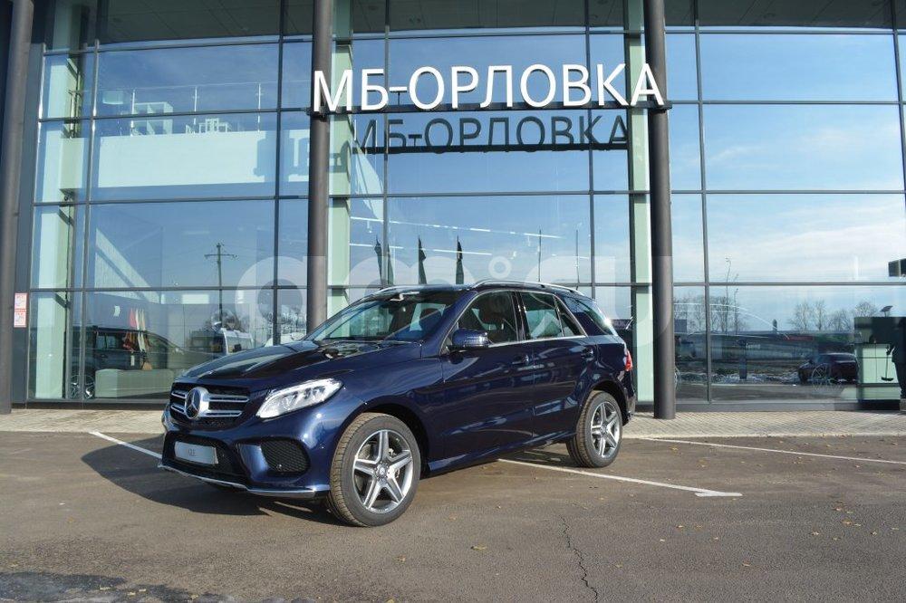 Новый авто Mercedes-Benz GLE-Класс, синий металлик, 2016 года выпуска, цена 4 963 000 руб. в автосалоне МБ-Орловка (Набережные Челны, тракт Мензелинский, д. 24)