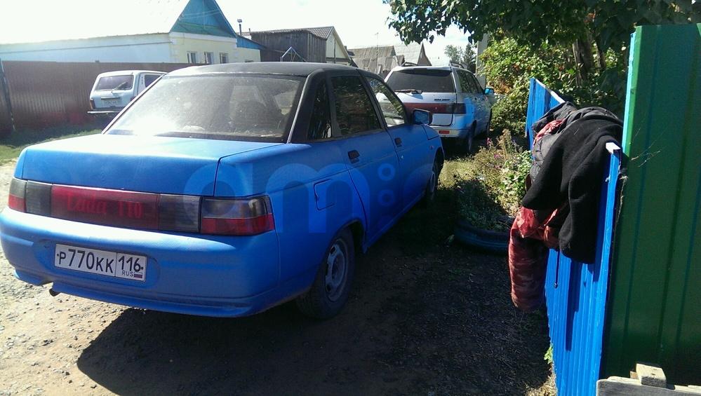Подержанный ВАЗ (Lada) 2110, хорошее состояние, синий , 2003 года выпуска, цена 42 000 руб. в республике Татарстане
