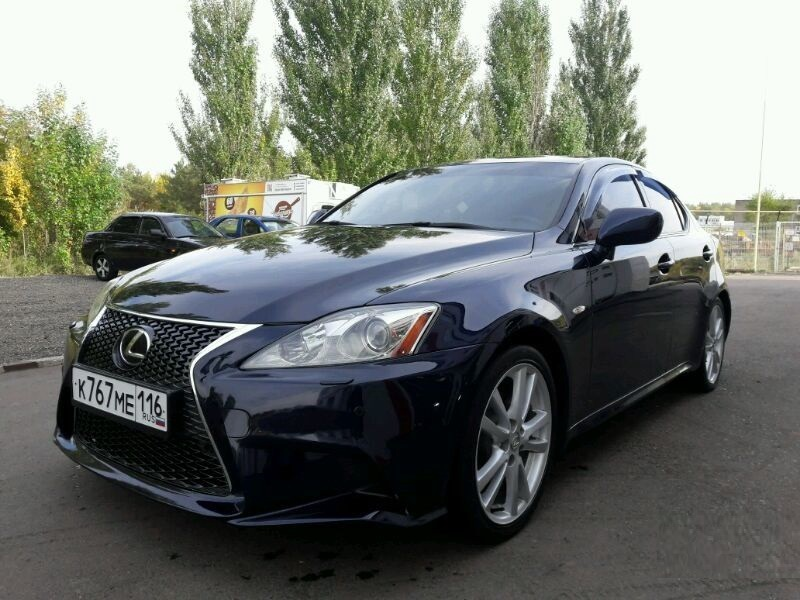 Подержанный Lexus IS, отличное состояние, черный металлик, 2006 года выпуска, цена 705 000 руб. в республике Татарстане