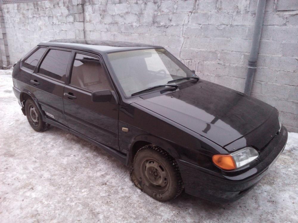 Подержанный ВАЗ (Lada) 2114, хорошее состояние, черный , 2011 года выпуска, цена 167 000 руб. в Челябинской области