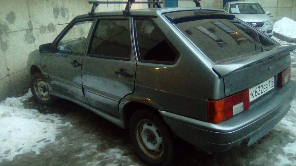 Подержанный ВАЗ (Lada) 2114, среднее состояние, серебряный , 2008 года выпуска, цена 80 000 руб. в республике Татарстане