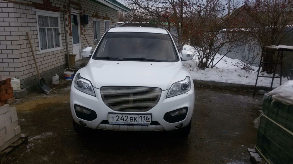 Подержанный Lifan X60, отличное состояние, белый , 2013 года выпуска, цена 410 000 руб. в республике Татарстане