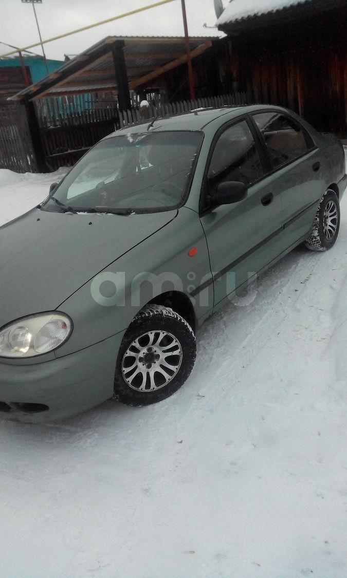Подержанный ЗАЗ Sens, хорошее состояние, зеленый , 2007 года выпуска, цена 85 000 руб. в Челябинской области