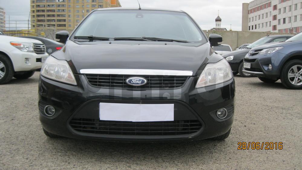 Подержанный Ford Focus, отличное состояние, черный металлик, 2008 года выпуска, цена 329 000 руб. в республике Татарстане