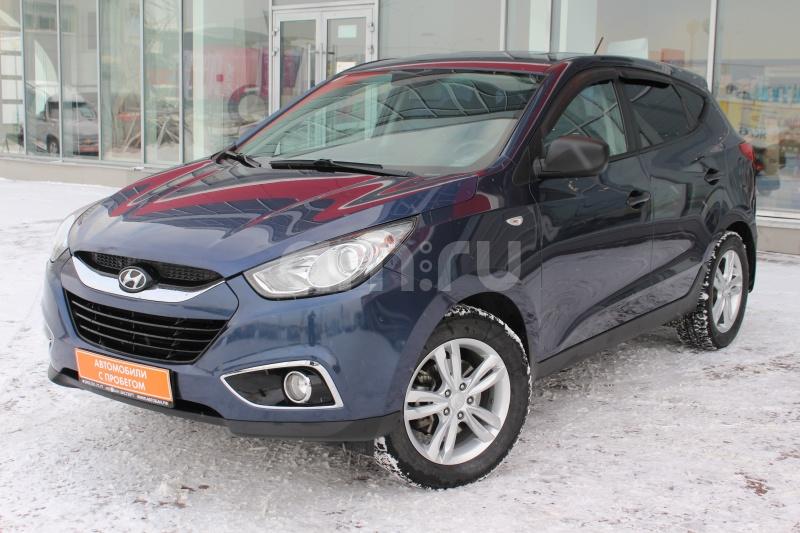 Hyundai ix35 с пробегом, синий , отличное состояние, 2010 года выпуска, цена 670 000 руб. в автосалоне Автобан-Запад (Екатеринбург, ул. Металлургов, д. 67)