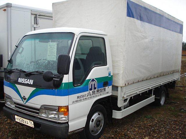 Подержанный Nissan Atlas, отличное состояние, белый , 2001 года выпуска, цена 570 000 руб. в ао. Ханты-Мансийском Автономном округе - Югре