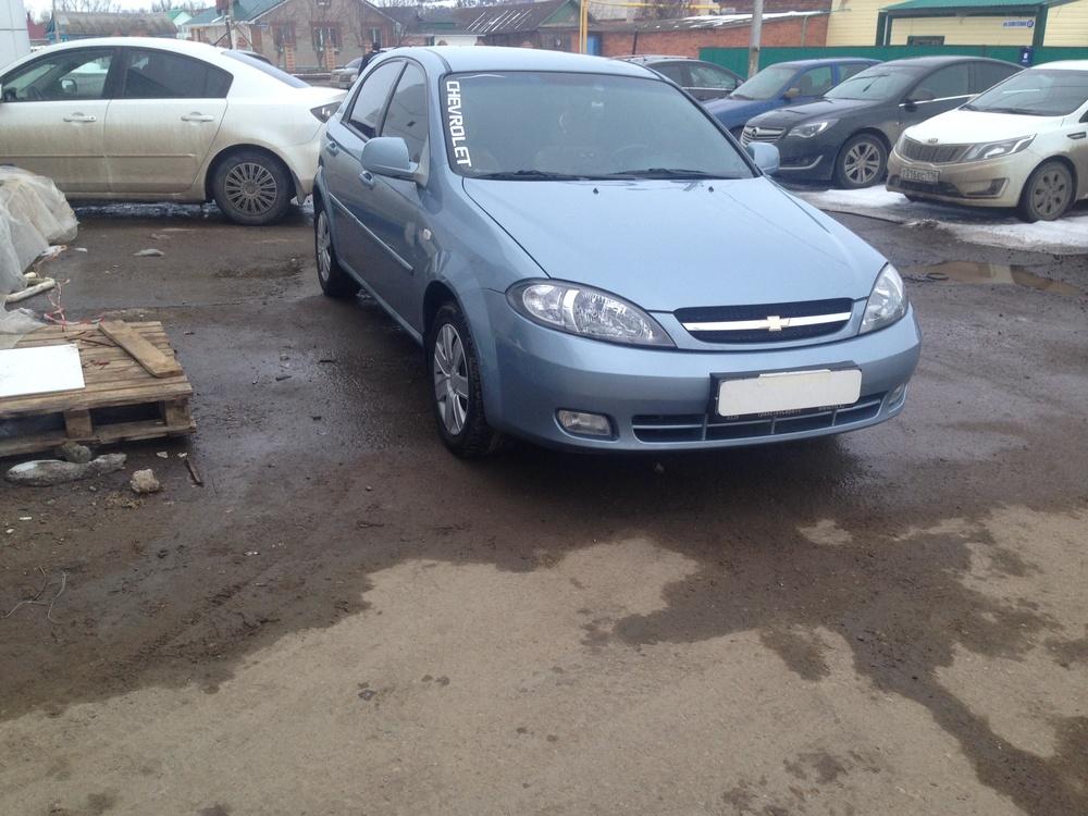 Подержанный Chevrolet Lacetti, хорошее состояние, голубой металлик, 2010 года выпуска, цена 300 000 руб. в республике Татарстане
