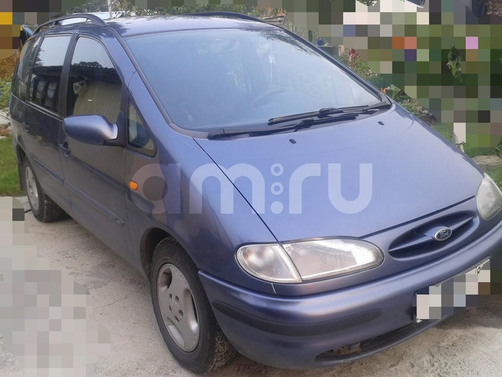 Подержанный Ford Galaxy, среднее состояние, синий перламутр, 1996 года выпуска, цена 180 000 руб. в ао. Ханты-Мансийском Автономном округе - Югре