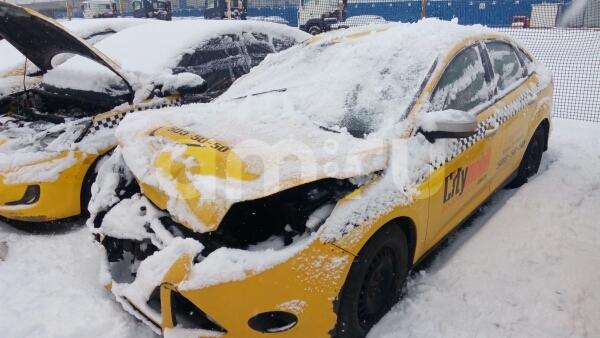 Ford Focus с пробегом, желтый , битый состояние, 2013 года выпуска, цена 225 000 руб. в автосалоне  ()