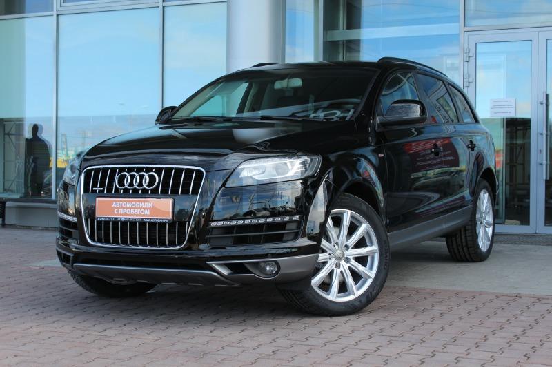 Audi Q7 с пробегом, черный , отличное состояние, 2013 года выпуска, цена 1 980 000 руб. в автосалоне Автобан-Запад (Екатеринбург, ул. Металлургов, д. 67)