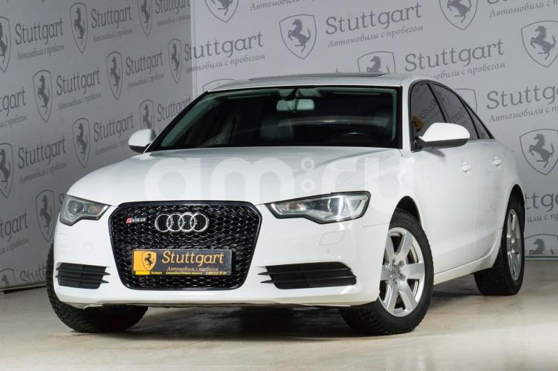Audi A6 с пробегом, белый , отличное состояние, 2011 года выпуска, цена 1 080 000 руб. в автосалоне Stuttgart (Екатеринбург, ул. Металлургов, д. 84(напротив ТЦ «Мега»))