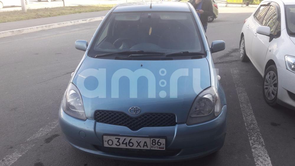 Подержанный Toyota Vitz, отличное состояние, голубой , 2001 года выпуска, цена 160 000 руб. в ао. Ханты-Мансийском Автономном округе - Югре