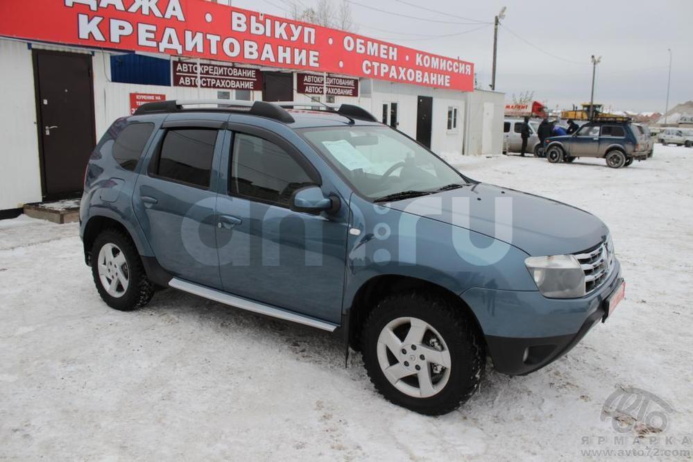 Renault Duster с пробегом, синий , отличное состояние, 2012 года выпуска, цена 625 000 руб. в автосалоне Автомобильная Ярмарка (Тюмень, ул. Пермякова, д. 85)