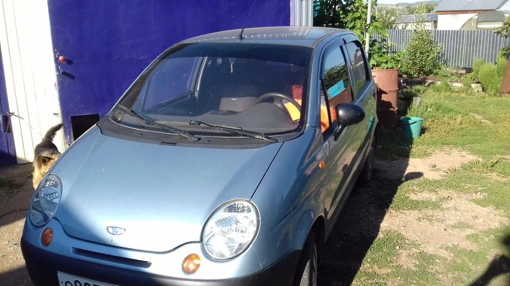 Подержанный Daewoo Matiz, отличное состояние, голубой перламутр, 2011 года выпуска, цена 155 000 руб. в республике Татарстане