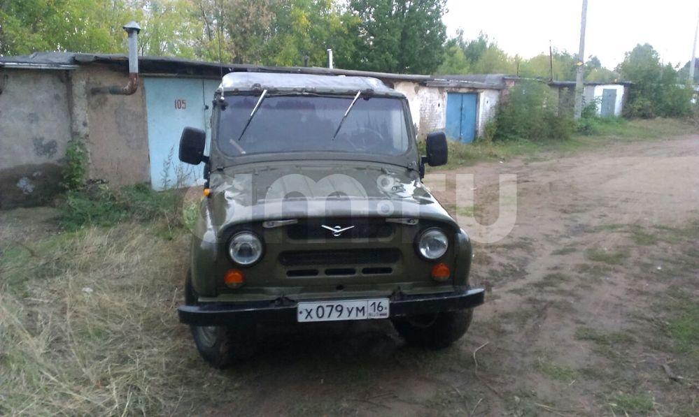 Подержанный УАЗ 3151, хорошее состояние, зеленый , 1990 года выпуска, цена 62 000 руб. в республике Татарстане