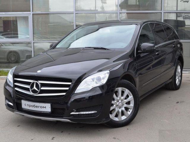 Подержанный Mercedes-Benz R-Класс, отличное состояние, черный , 2012 года выпуска, цена 1 720 000 руб. в ао. Ханты-Мансийском Автономном округе - Югре