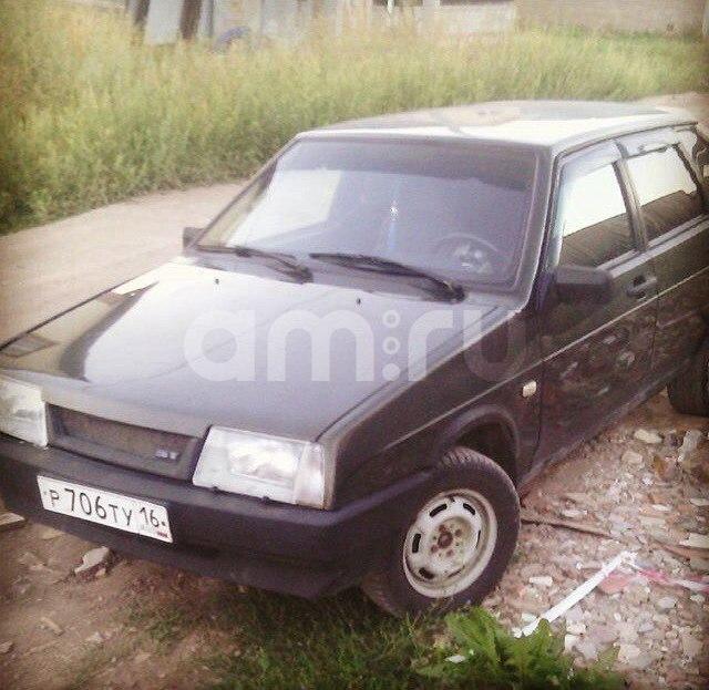 Подержанный ВАЗ (Lada) 2109, среднее состояние, зеленый , 2004 года выпуска, цена 50 000 руб. в республике Татарстане
