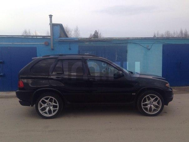 Подержанный BMW X5, отличное состояние, черный , 2005 года выпуска, цена 650 000 руб. в ао. Ханты-Мансийском Автономном округе - Югре