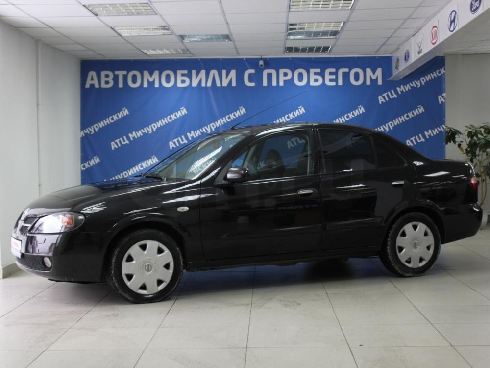 Nissan Almera с пробегом, черный , отличное состояние, 2006 года выпуска, цена 250 000 руб. в автосалоне  ()