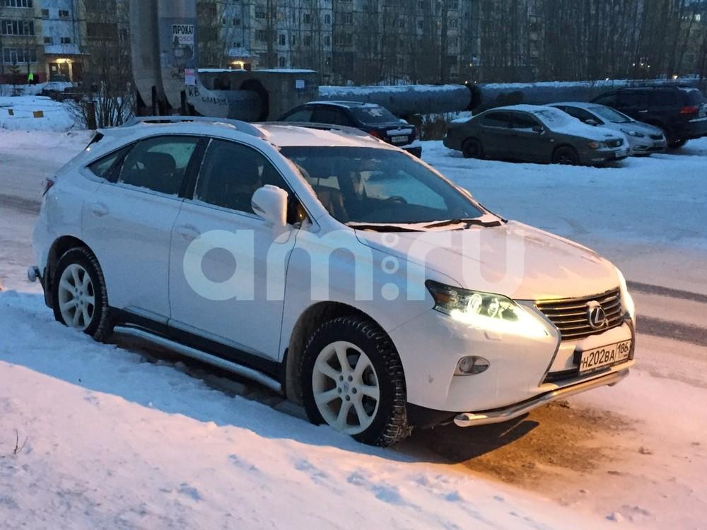 Подержанный Lexus RX, отличное состояние, белый металлик, 2013 года выпуска, цена 2 180 000 руб. в ао. Ханты-Мансийском Автономном округе - Югре
