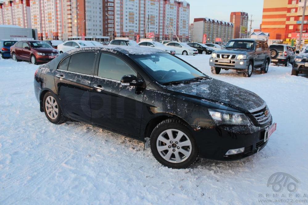 Geely Emgrand с пробегом, черный акрил, отличное состояние, 2013 года выпуска, цена 420 000 руб. в автосалоне  ()