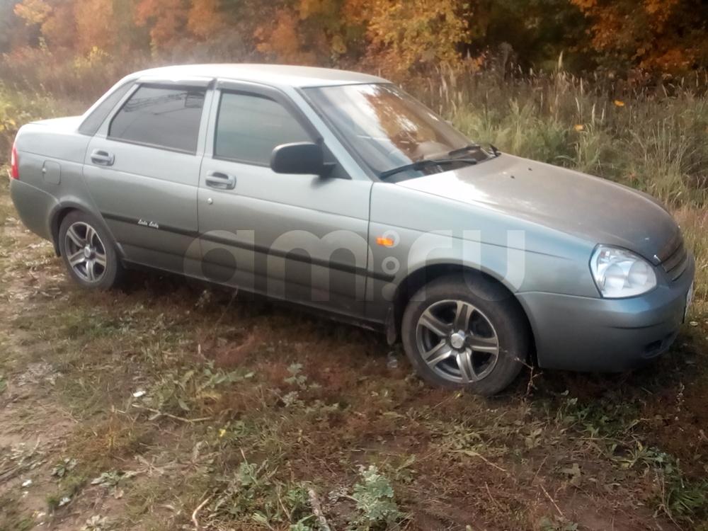 Подержанный ВАЗ (Lada) Priora, хорошее состояние, серебряный металлик, 2008 года выпуска, цена 180 000 руб. в республике Татарстане